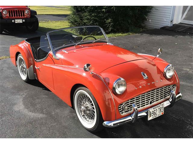 1962 Triumph TR3 (CC-1337546) for sale in Windham, Maine