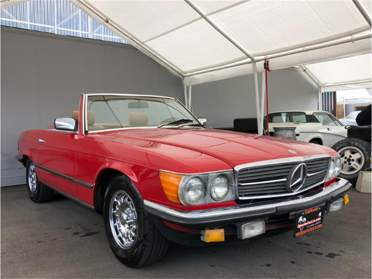 1986 Mercedes-Benz 500SL (CC-1337564) for sale in Los Angeles, California