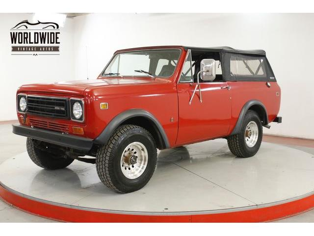 1978 International Scout (CC-1337618) for sale in Denver , Colorado