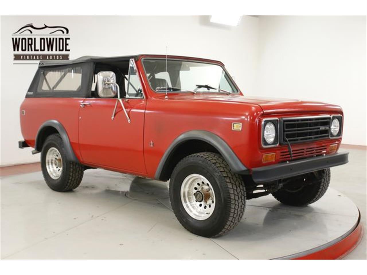 1978 International Scout (CC-1337618) for sale in Denver , Colorado