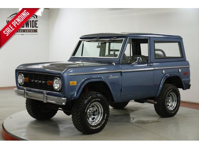 1971 Ford Bronco (CC-1337630) for sale in Denver , Colorado