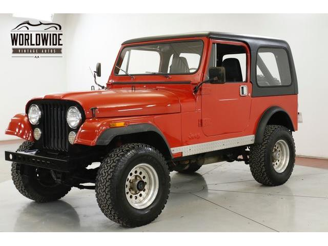 1985 Jeep CJ7 (CC-1337634) for sale in Denver , Colorado