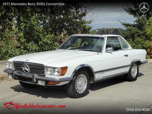 1971 Mercedes-Benz 350SL (CC-1337705) for sale in Gladstone, Oregon