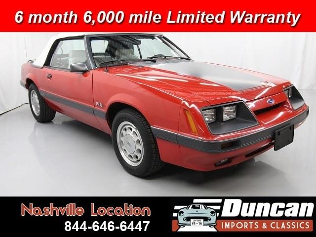 1986 Ford Mustang (CC-1337977) for sale in Christiansburg, Virginia
