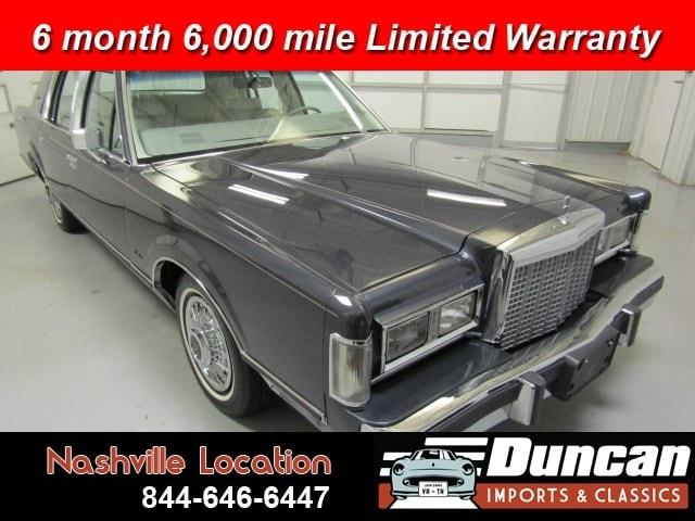 1985 Lincoln Town Car (CC-1337988) for sale in Christiansburg, Virginia
