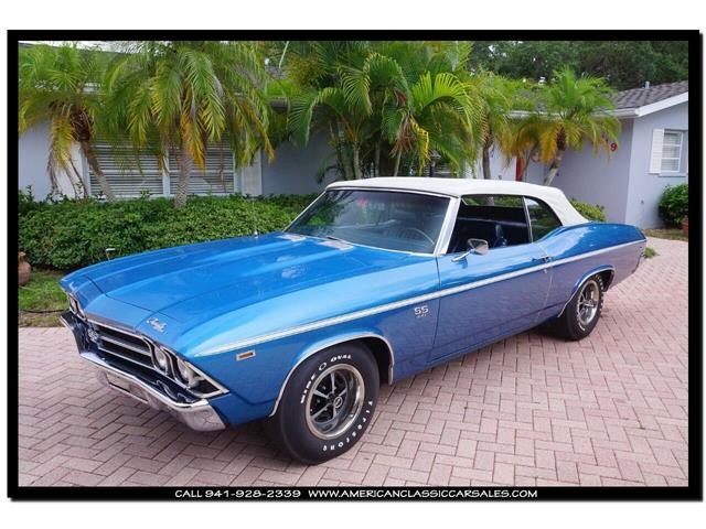 1969 Chevrolet Chevelle (CC-1338169) for sale in Sarasota, Florida
