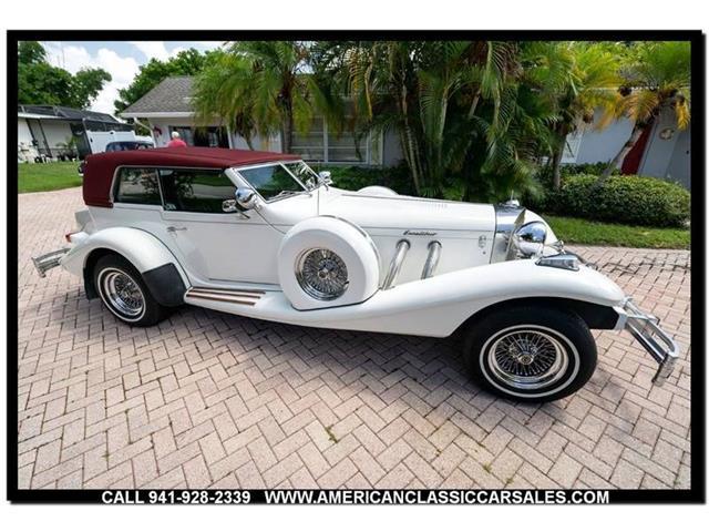 1982 Excalibur Phaeton (CC-1338177) for sale in Sarasota, Florida