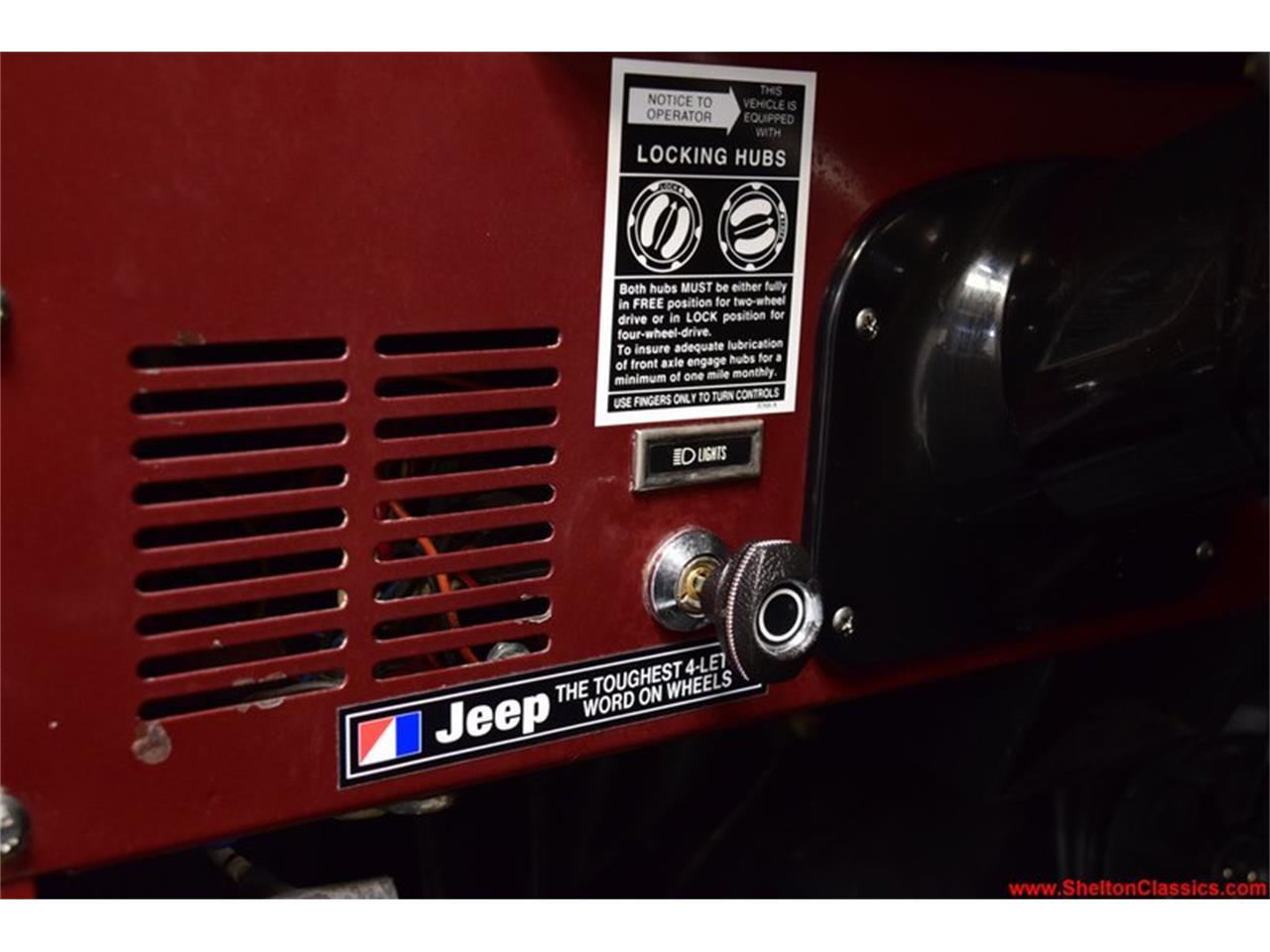 1984 Jeep CJ (CC-1338241) for sale in Mooresville, North Carolina