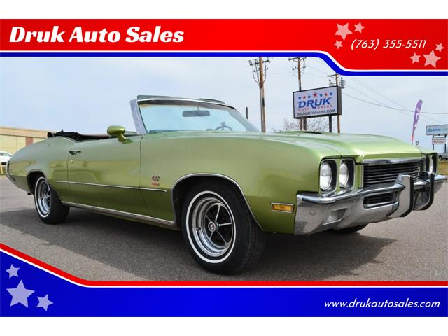 1972 Buick Gran Sport (CC-1338317) for sale in Ramsey, Minnesota