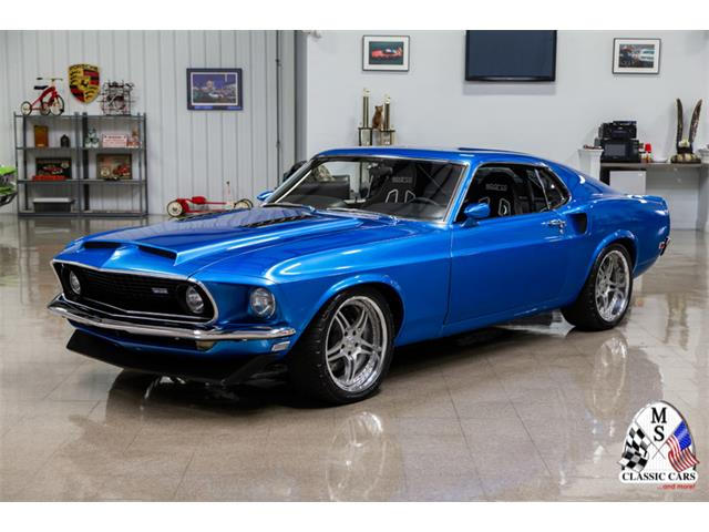 1968 Ford Mustang GT Fastback 2+2 collector car in orig pkg--mint brand new /'69