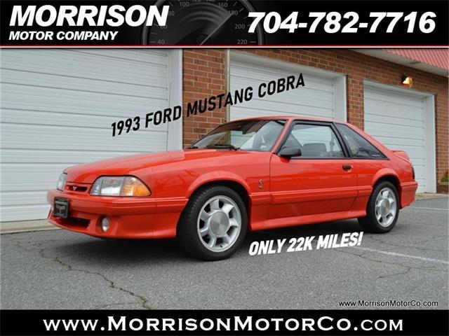 1993 Ford Mustang Cobra (CC-1330844) for sale in Concord, North Carolina