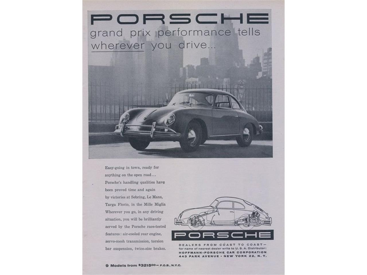 1957 Porsche 356 (CC-1330878) for sale in Rockville, Maryland