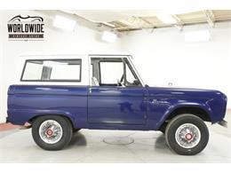 1967 Ford Bronco (CC-1338833) for sale in Denver , Colorado