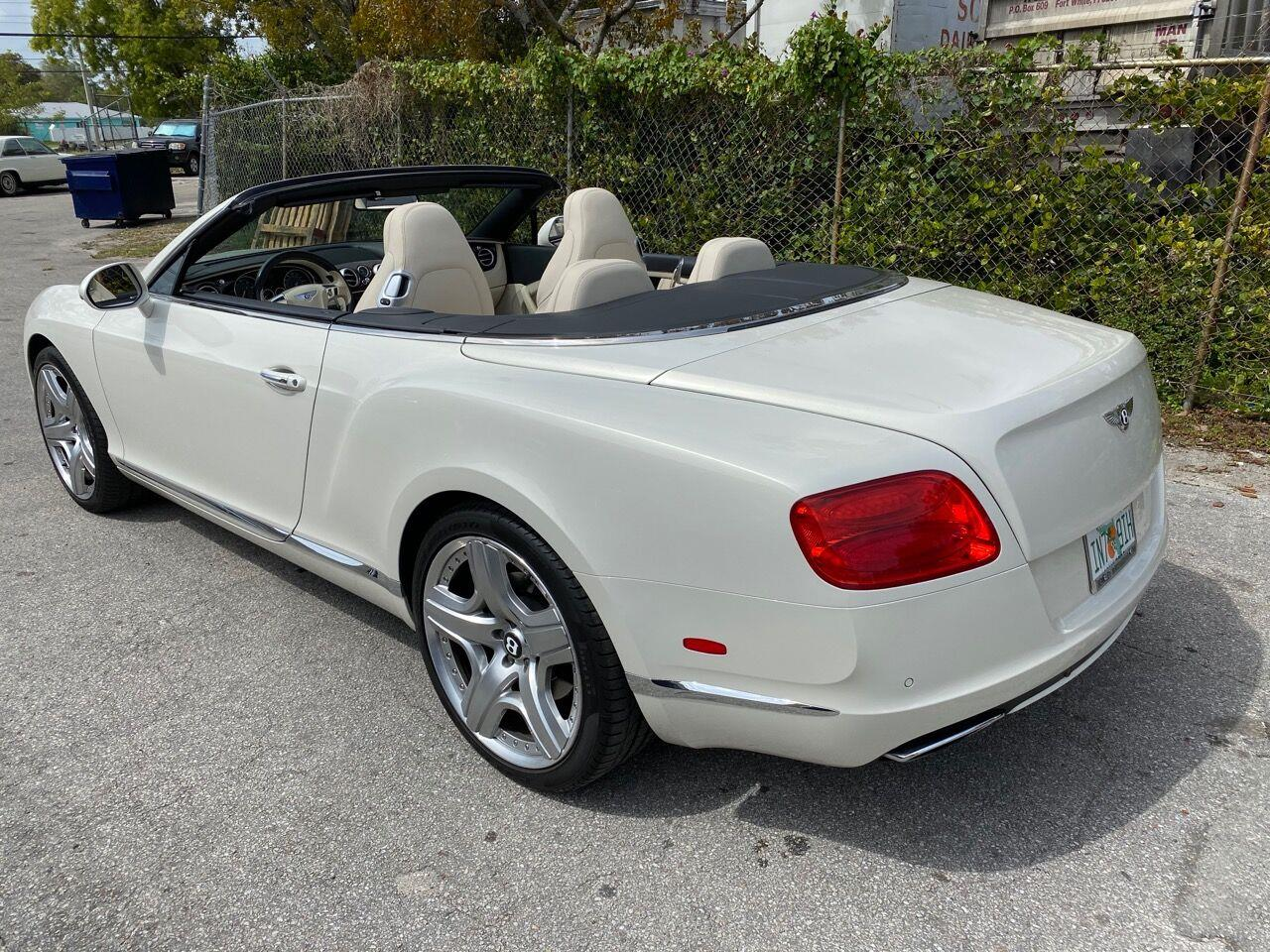 2014 Bentley Continental (CC-1330903) for sale in Fort Lauderdale, Florida