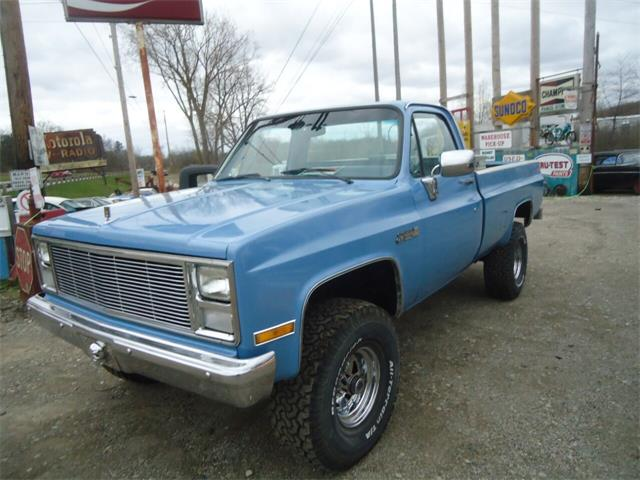 1986 Chevrolet C/K 1500 (CC-1339043) for sale in Jackson, Michigan