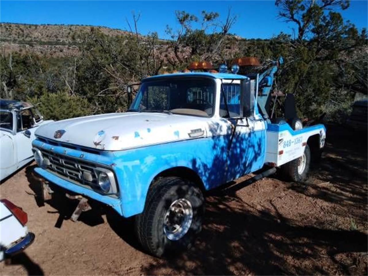 1961 Ford Tow Truck (CC-1339096) for sale in Cadillac, Michigan