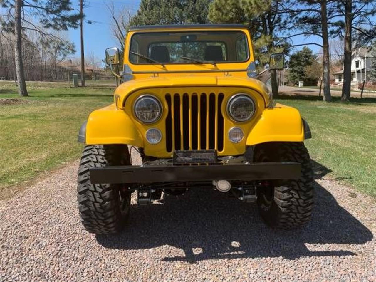 1982 Jeep CJ8 Scrambler (CC-1339106) for sale in Cadillac, Michigan