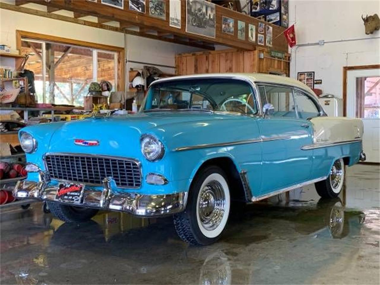 1955 Chevrolet Bel Air (CC-1339625) for sale in Cadillac, Michigan