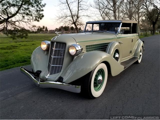 1935 Auburn Phaeton (CC-1330974) for sale in Sonoma, California