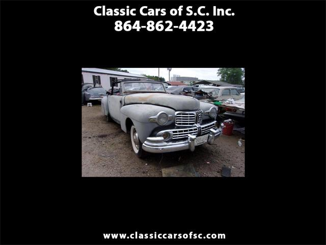 1946 Lincoln Continental (CC-1339846) for sale in Gray Court, South Carolina