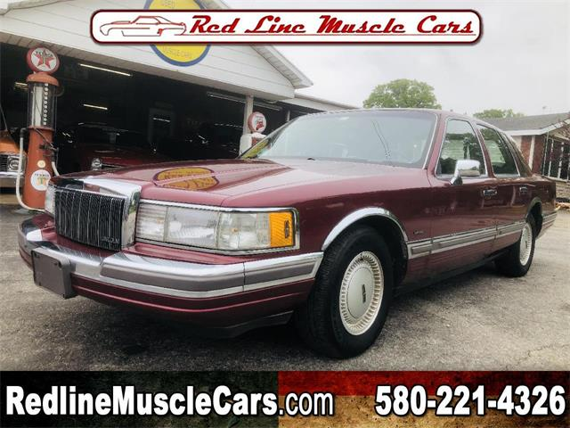 1990 Lincoln Town Car (CC-1339911) for sale in Wilson, Oklahoma