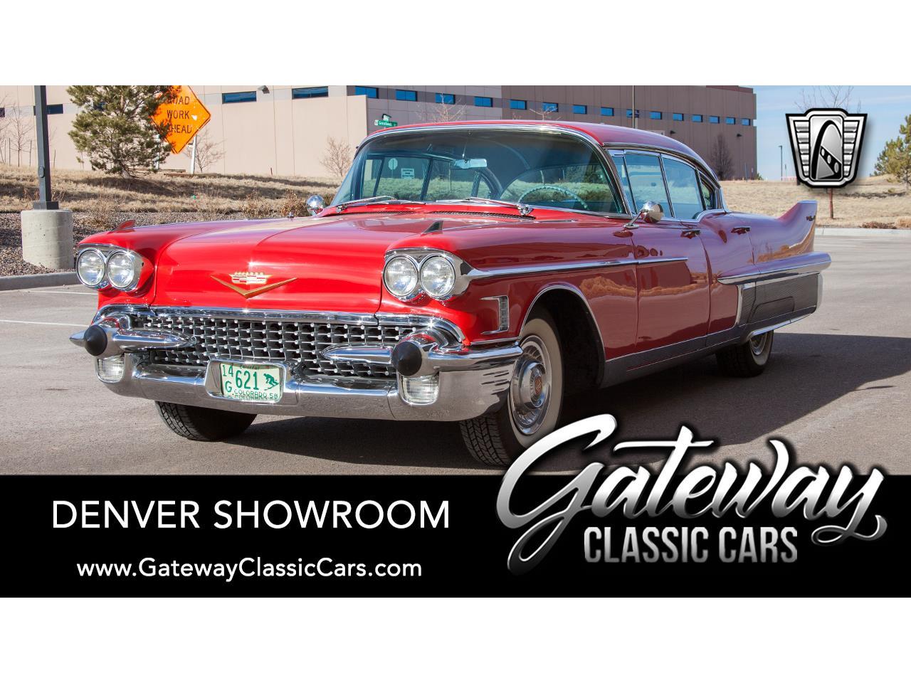 1958 Cadillac Fleetwood (CC-1341027) for sale in O'Fallon, Illinois