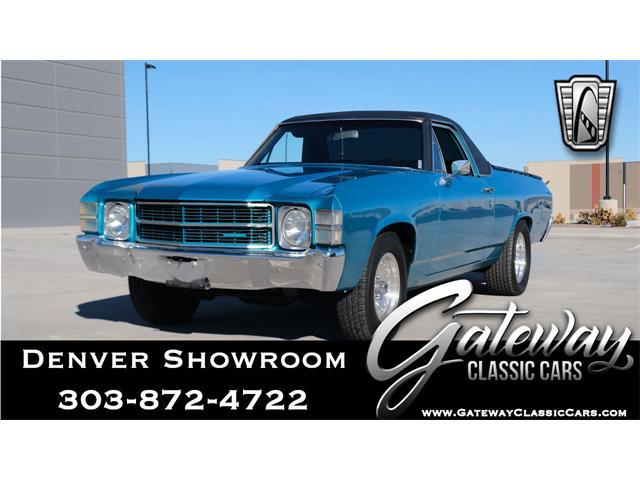 1971 Chevrolet El Camino (CC-1341057) for sale in O'Fallon, Illinois