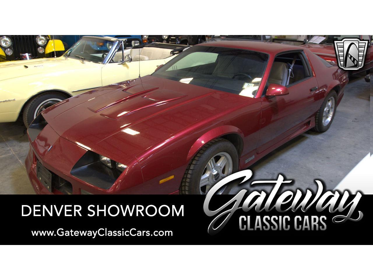 1991 Chevrolet Camaro Z28 (CC-1341060) for sale in O'Fallon, Illinois