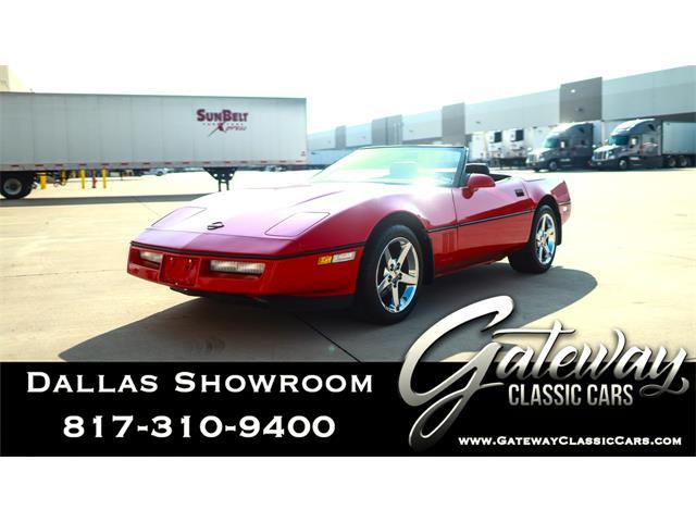1989 Chevrolet Corvette (CC-1341246) for sale in O'Fallon, Illinois