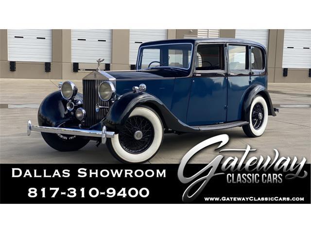 1937 Rolls-Royce 25/30 (CC-1341332) for sale in O'Fallon, Illinois