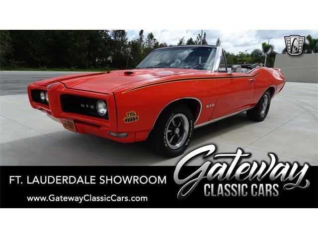 1968 Pontiac GTO (CC-1341391) for sale in O'Fallon, Illinois