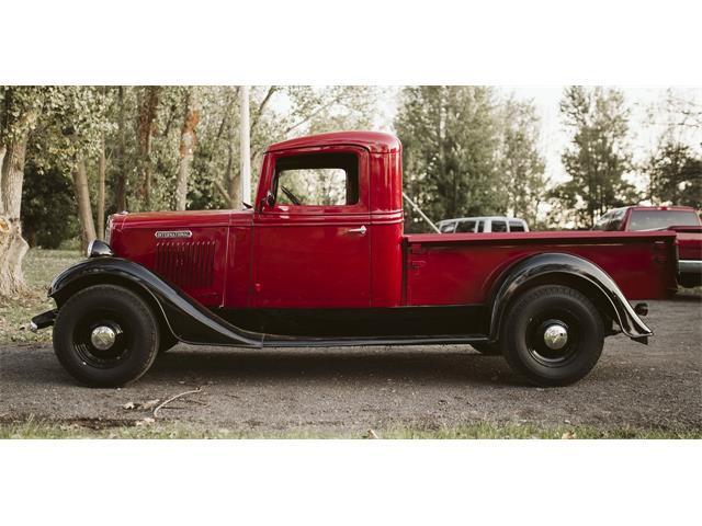 1936 International 1/2 Ton Pickup (CC-1341475) for sale in Newfane, New York