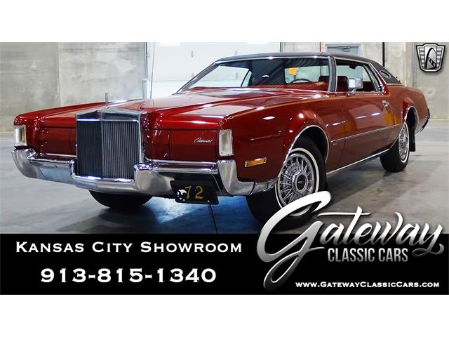 1972 Lincoln Continental (CC-1341645) for sale in O'Fallon, Illinois