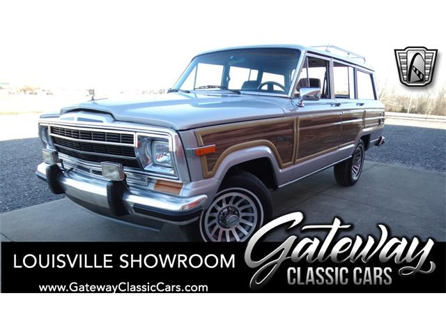 1988 jeep grand wagoneer for sale on classiccars com classic cars