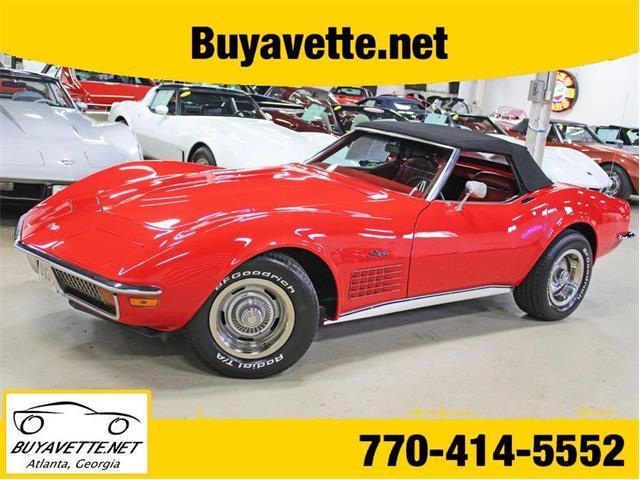 1972 Chevrolet Corvette (CC-1340205) for sale in Atlanta, Georgia