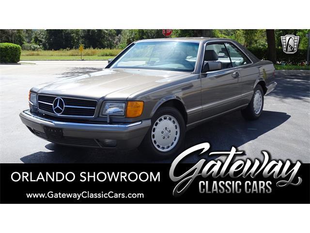 1986 Mercedes-Benz 560SEC (CC-1342401) for sale in O'Fallon, Illinois