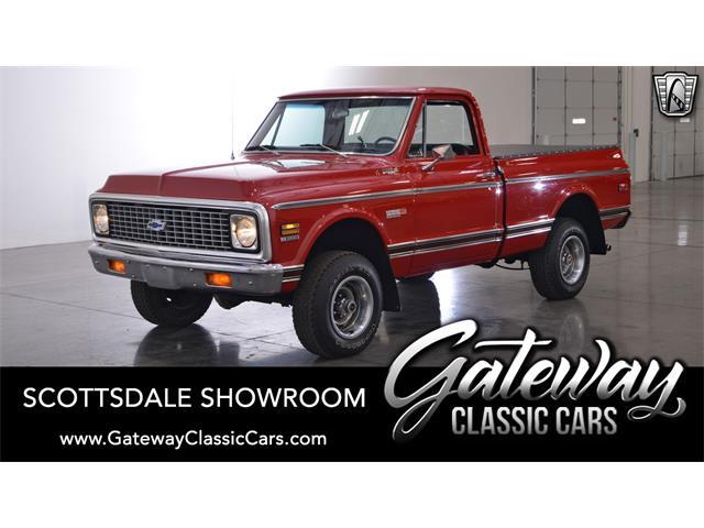 1972 Chevrolet K-10 (CC-1342652) for sale in O'Fallon, Illinois