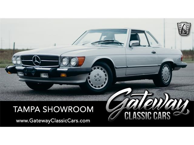1989 Mercedes-Benz 560SL (CC-1342832) for sale in O'Fallon, Illinois