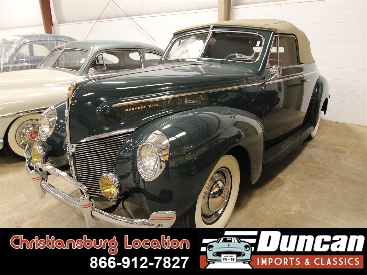 1940 Mercury Eight (CC-1342931) for sale in Christiansburg, Virginia