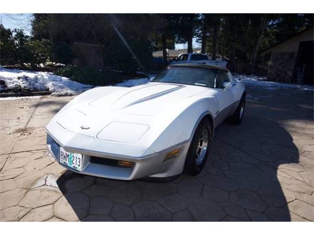1982 Chevrolet Corvette (CC-1343003) for sale in Cadillac, Michigan
