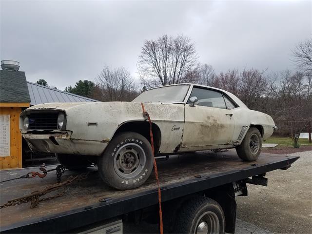 1969 Chevrolet Camaro (CC-1343363) for sale in Woodstock, Connecticut