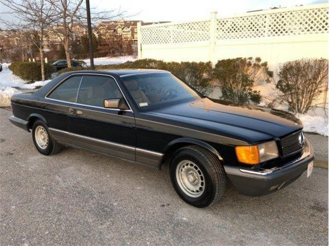1982 Mercedes-Benz 380SEC (CC-1343383) for sale in Lake Hiawatha, New Jersey