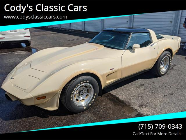 1979 Chevrolet Corvette (CC-1343557) for sale in Stanley, Wisconsin