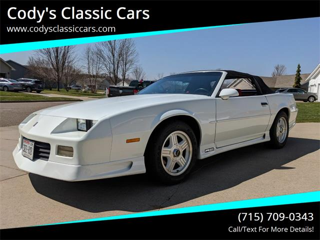 1991 Chevrolet Camaro (CC-1343563) for sale in Stanley, Wisconsin