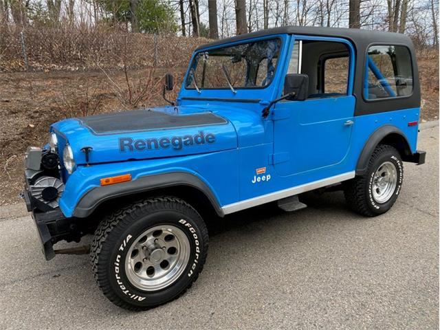 1978 Jeep CJ7 (CC-1343605) for sale in Holliston, Massachusetts