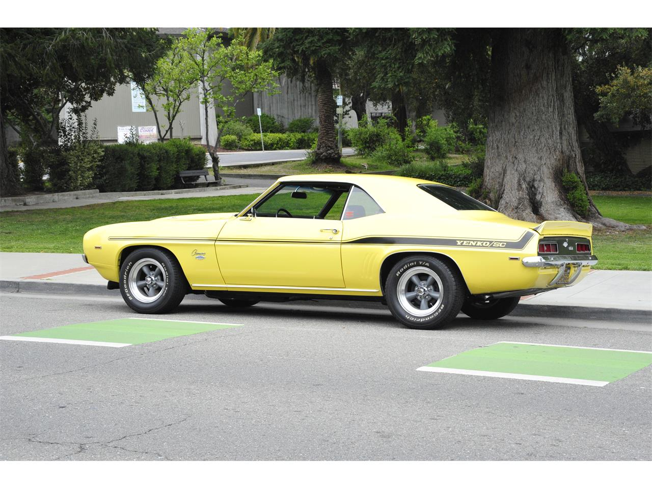 1969 Chevrolet Camaro COPO (CC-1343659) for sale in Campbell, California