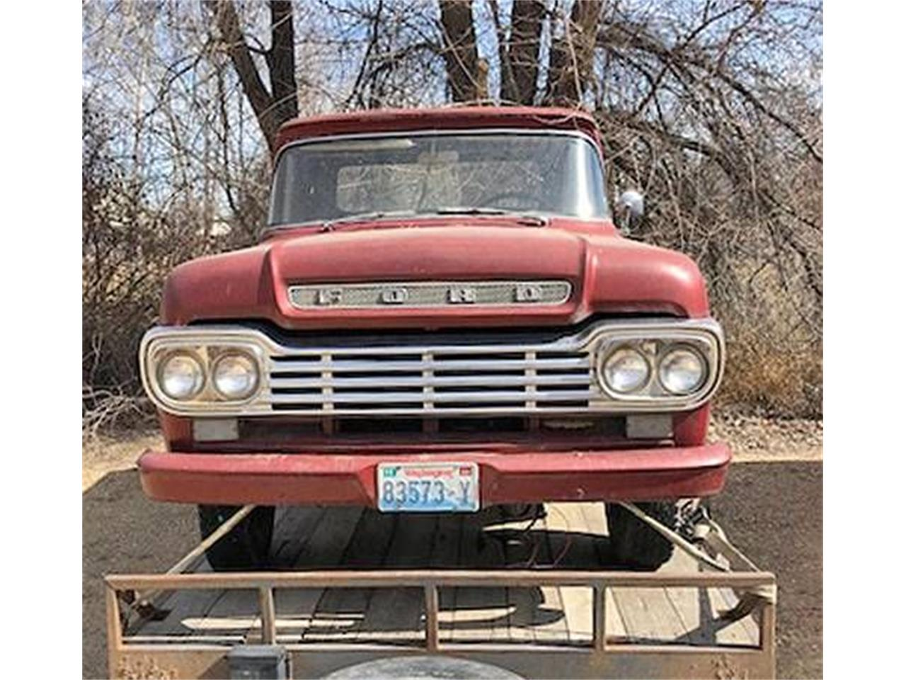 1959 Ford Pickup (CC-1343714) for sale in Cadillac, Michigan