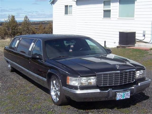 1996 Cadillac Limousine (CC-1340385) for sale in Cadillac, Michigan