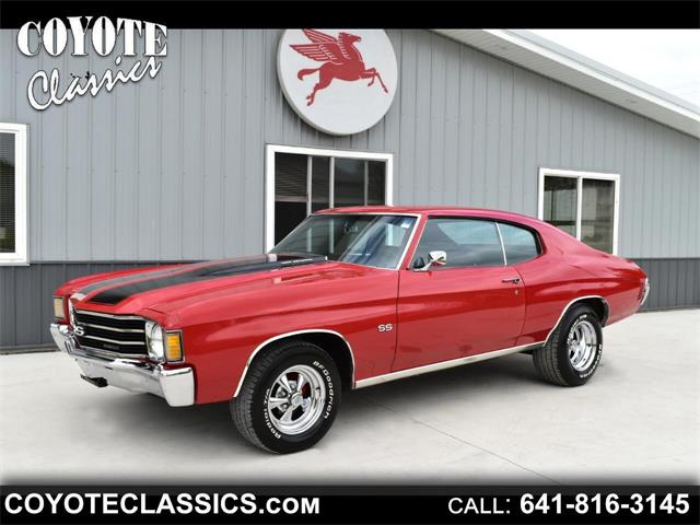 1972 Chevrolet Chevelle (CC-1344005) for sale in Greene, Iowa