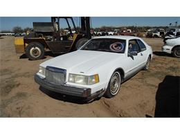 1987 Lincoln Continental (CC-1344063) for sale in Phoenix, Arizona